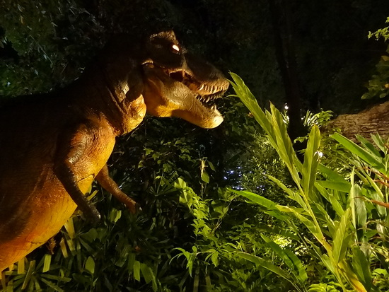 A terrifying T-Rex to send the kids running.