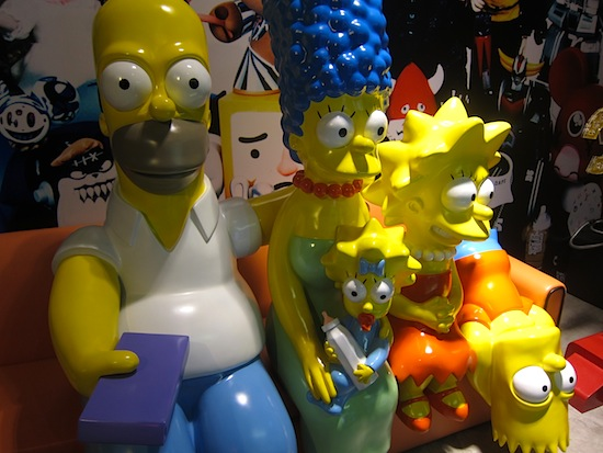 I never thought life-size Simpsons would be so frightening.