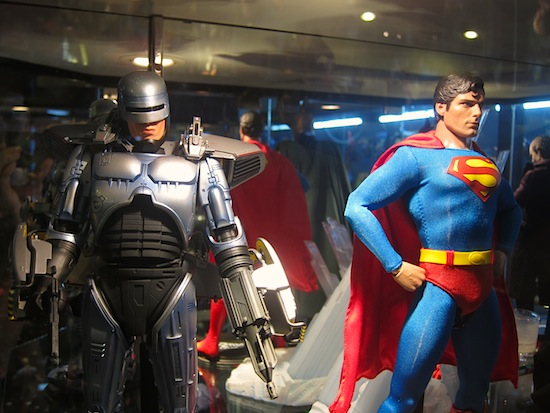 RoboCop versus Superman? Where do I buy my ticket!?