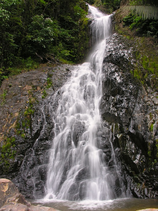Just one of Huay Toh Waterfall's 11 tiers.