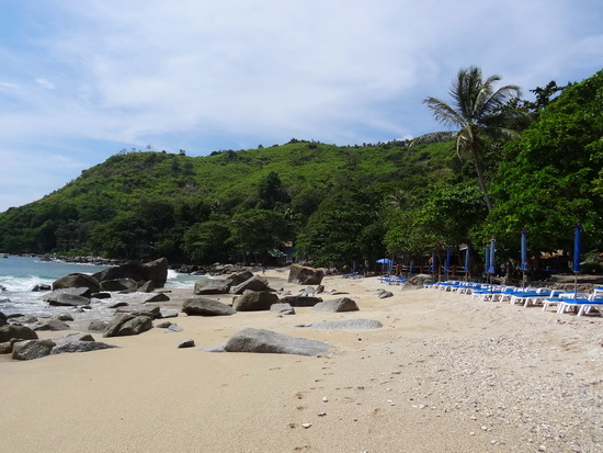 Ao Sane, worth the little extra drive past Nai Harn.