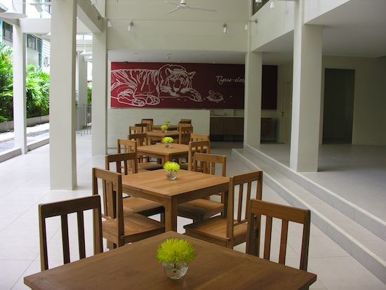 Generous space and light are themes throughout the hostel.