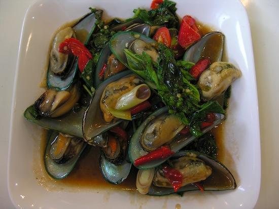 Major league mussels.