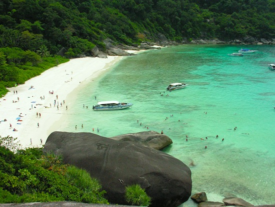 Ko Similan -- is that what you were daydreaming about?