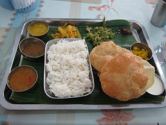 A taste of Chennai.
