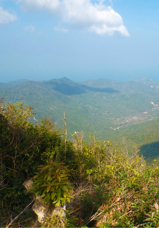 View from Khao Ra