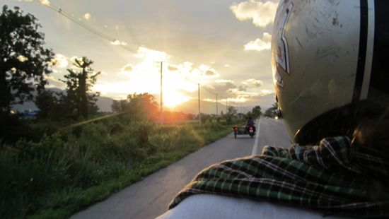 There's nothing like riding off free into the sunset.