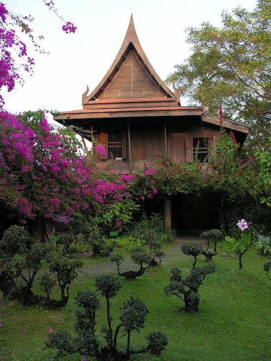 One of many Thai houses at Sampran.
