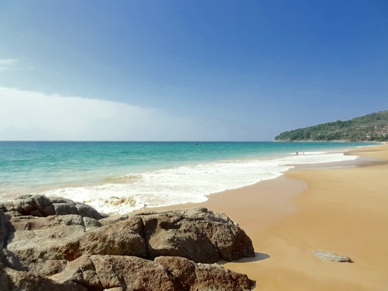 Nai Thon beach. Who said Phuket was crowded?