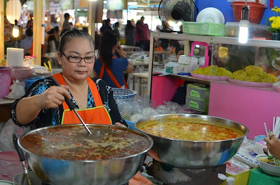 Don't miss the northern Thai soup queen.