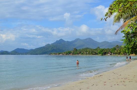 Kai Bae: just one of Ko Chang's dozen beaches.