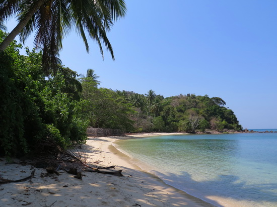 Lush and lonely - Ao Muang beach.