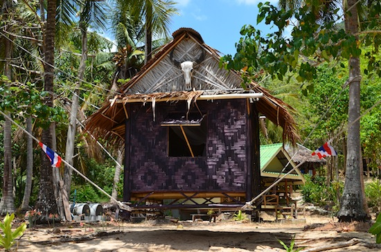 Plus huts strung to trees, like this one at Ko Jum's Sunset Beach Bungalows.