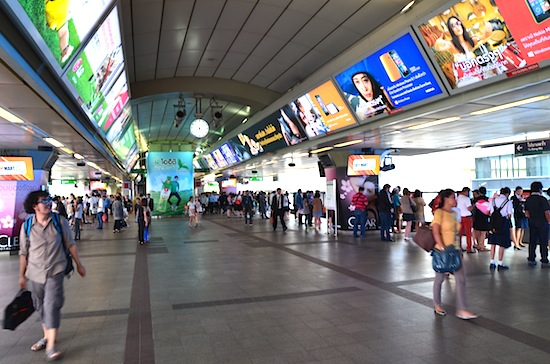 Midday in Siam station.