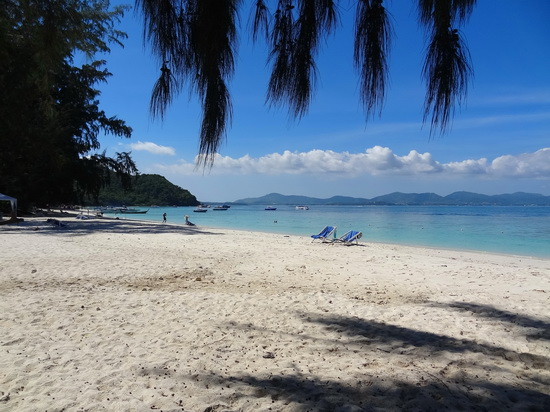 Coral island, a quick hop away from Phuket.