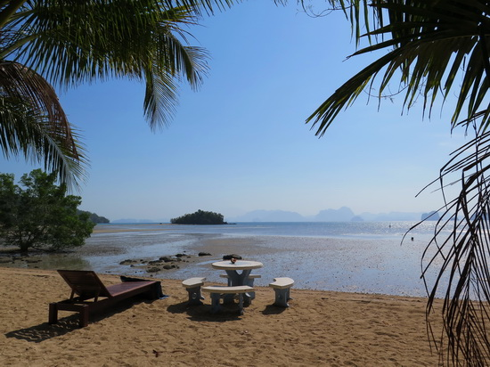 Room with a view at Baan Tha Khao Bungalow.