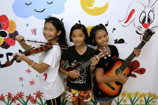 KTMP brings meaning and joy into kids' lives.