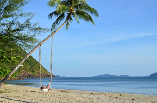 Ko Chang: A big island with some very hot spots.