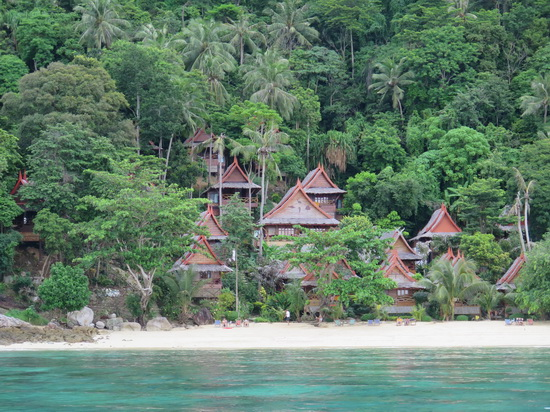 You'll want to get into one of these bungalows at Phi Phi Relax.