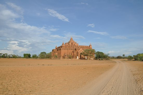 Bagan in the dry season is ... dry.