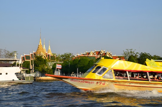Cruising the river of kings.