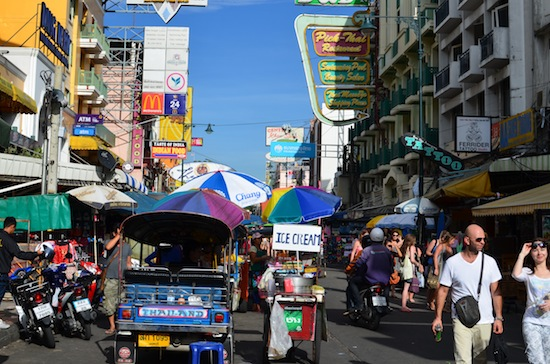 Want to stay on Khao San? Book early.