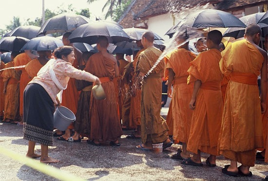 Photo from Laos, where it's same same and not too different for Phimai Lao.
