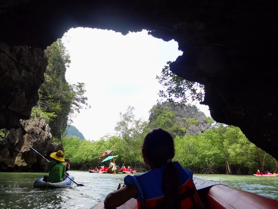 Phang Nga Bay is busy but still a magical place to paddle.