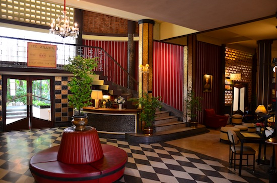 You may recognize The Atlanta's foyer from a film or two.