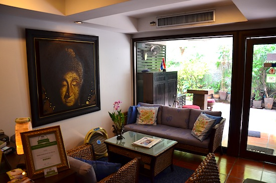 Take a load off at Baan Soi 20.