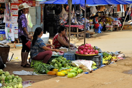 Arunothai's traditional style market