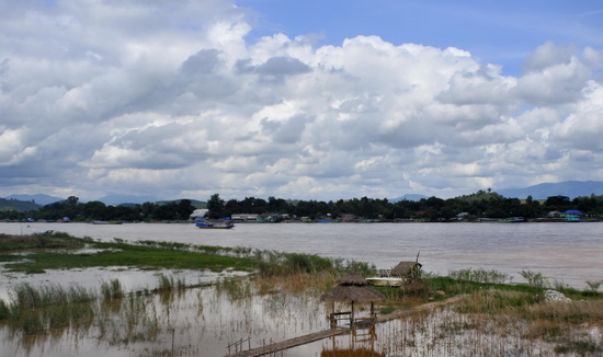 The Mekong with Laos opposite