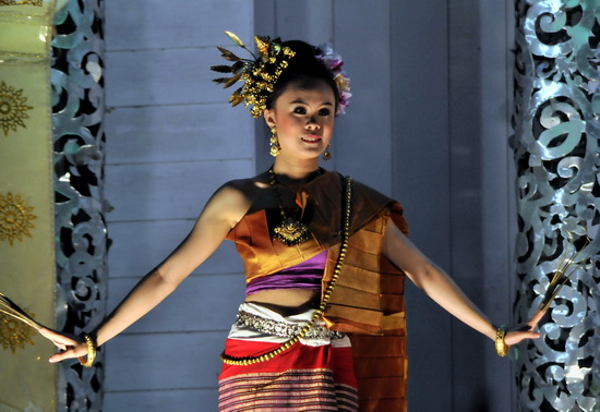 North Thai traditional dance.