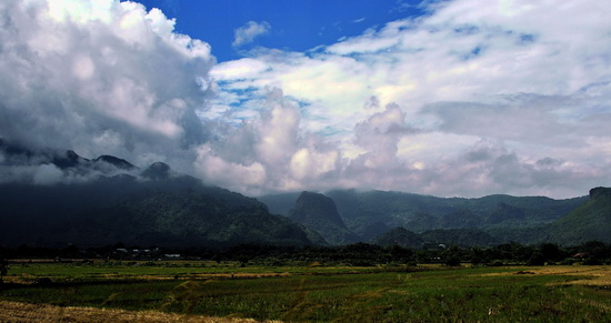 Doi Tung from the east