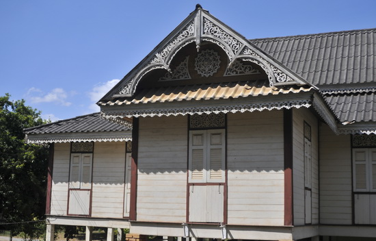 Another old teak house in the old town