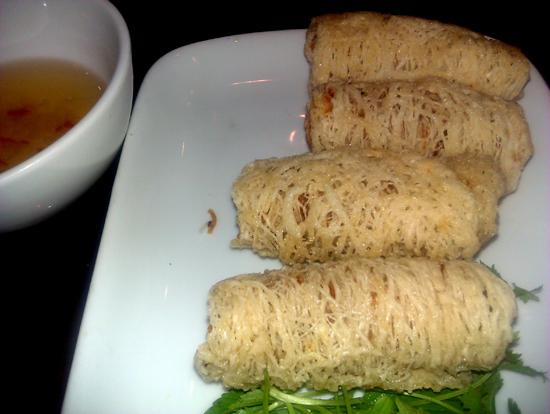 Nem Hue - crispy on the outside, soft and meaty on the inside