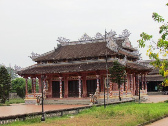 The Confucius Temple outlook.