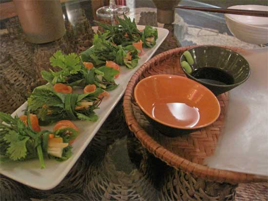 This meal does not exist in Bac Ha.