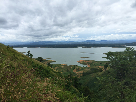 KT_View of Pleikrong reservoir_550