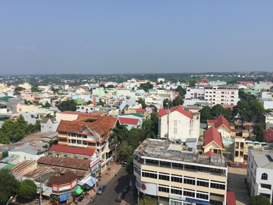 Downtown Buon Ma Thuot.