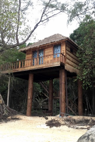 Treehouse Bungalows Review Koh Touch Beach Koh Rong